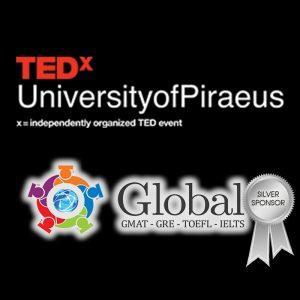 To Global Prep Αργυρός Χορηγός του TEDxUniversityofPiraeus 2019