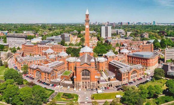 Υποτροφίες για μεταπτυχιακές σπουδές στο University of Birmingham στο Ηνωμένο Βασίλειο