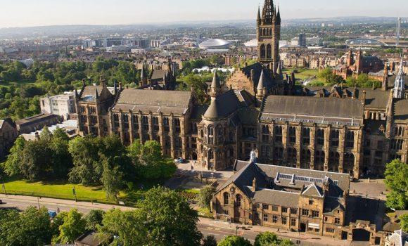 Υποτροφίες για μεταπτυχιακές σπουδές στο University of Glasgow στην Σκωτία